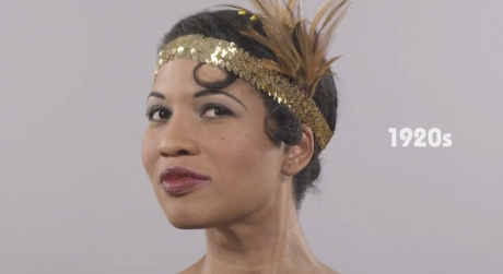 100 Years of Black Hair in Less Than a Minute! (from Coloures.com)