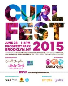 Yeah, it's over, but you can still get ready for CurlFest 2016